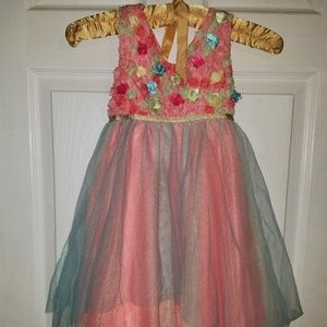 RARE EDITIONS Girls Formal Party Dress